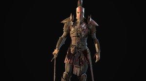 3D character crusader remastered