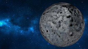 ceres eris haumea planet 3D model