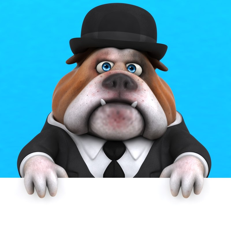 fun bulldog ! model