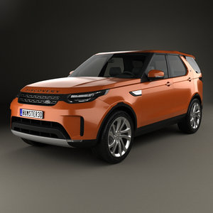 discovery land rover 3D