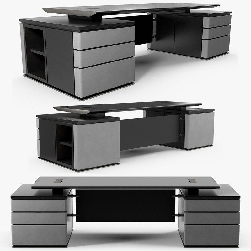 3D promemoria writing desk au