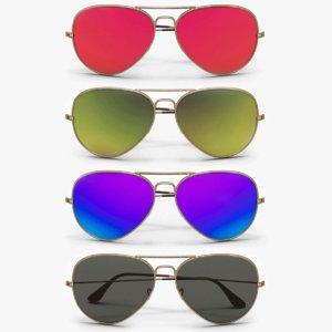 aviator sunglasses colors model