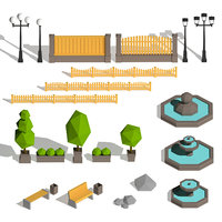 Garden Low Poly Pack