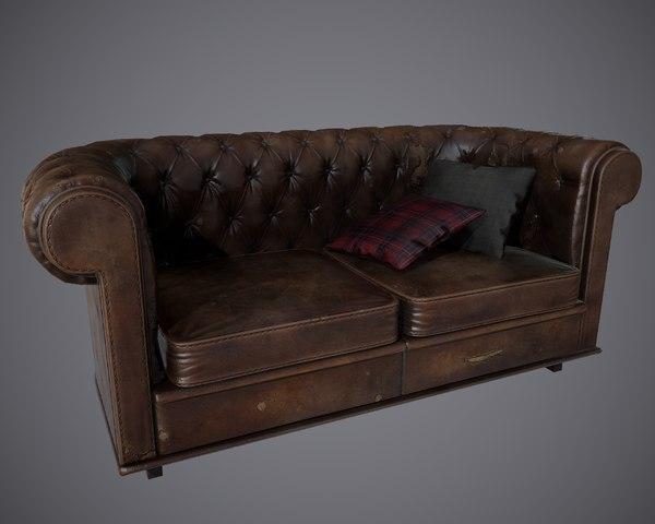 pbr sofas model