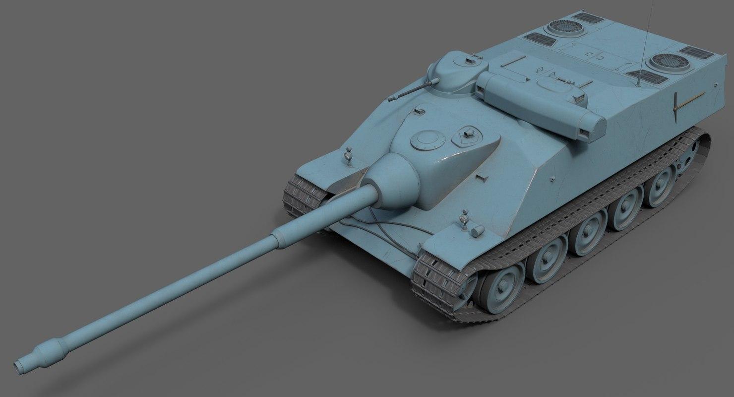 3D franch heavy tank amx
