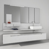 Bathroom furniture set Arcom Moov 2