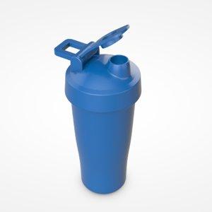 shaker bottle shake 3D model