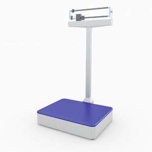physician scale 3D model