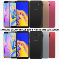 Samsung Galaxy J4 Plus 2018 & J6 Plus 2018 Collection