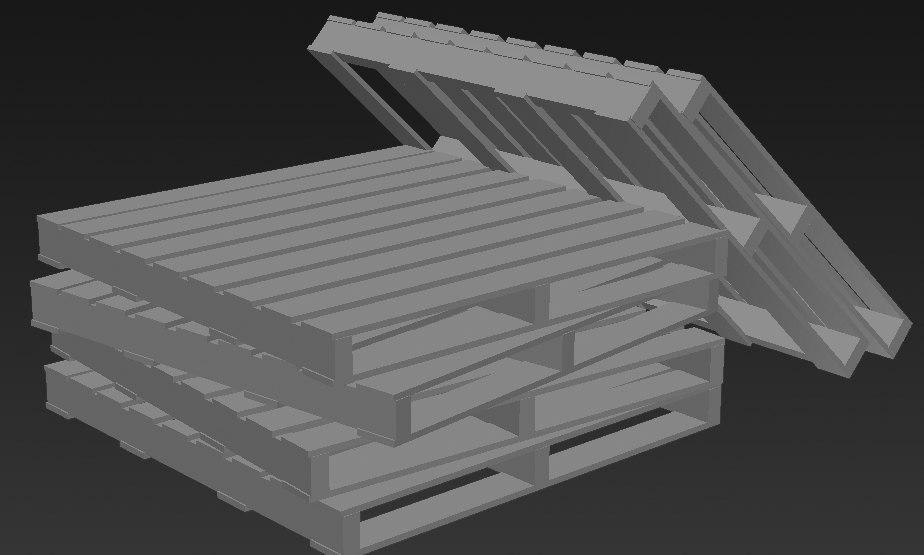 3D pallet stack
