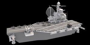 aircraft carrier 3D model