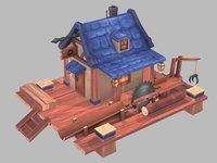 sawmill saw 3D