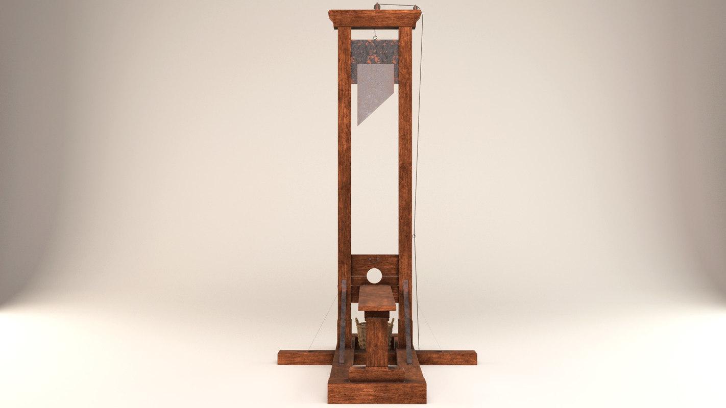 guillotine 3D