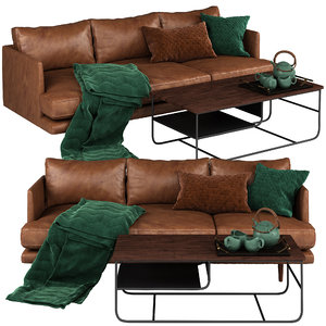 3D burrard sofa table