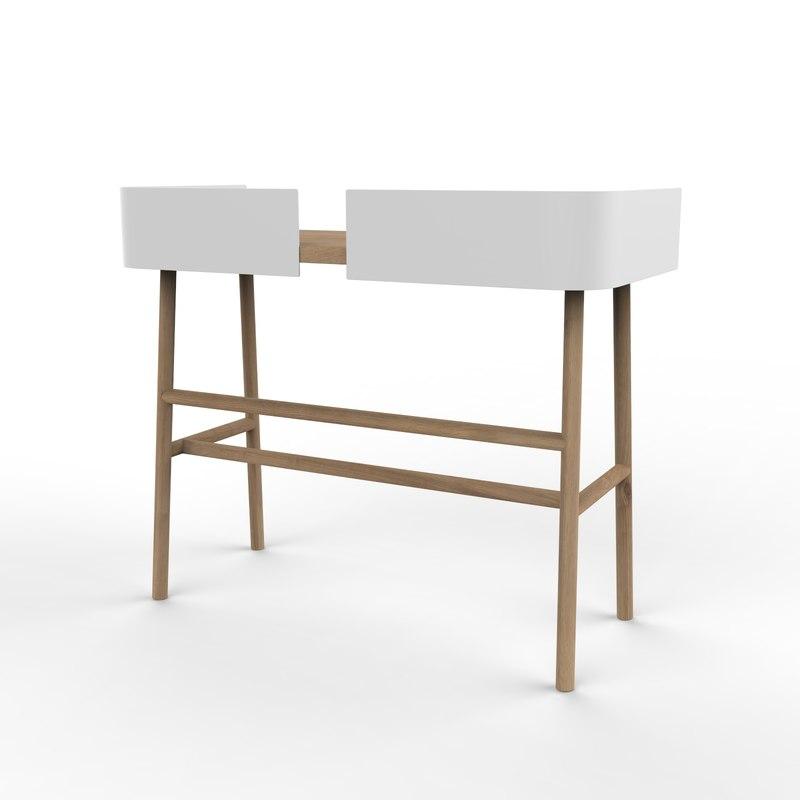 3D b desk
