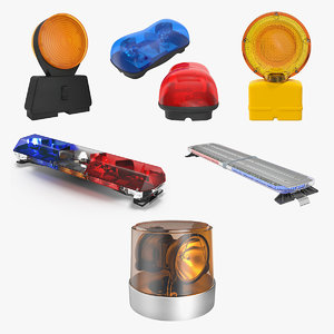 emergency warning lights 2 model