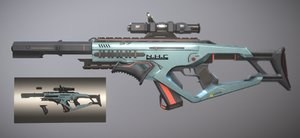 space rifle games model