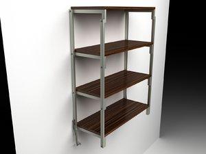 swing table shelf model