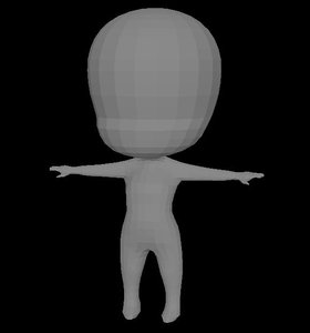3D base character