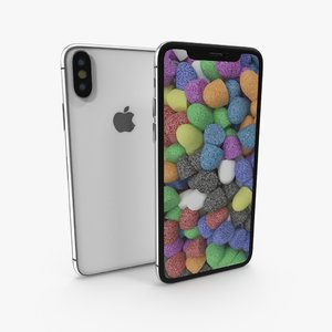 3D apple iphone model