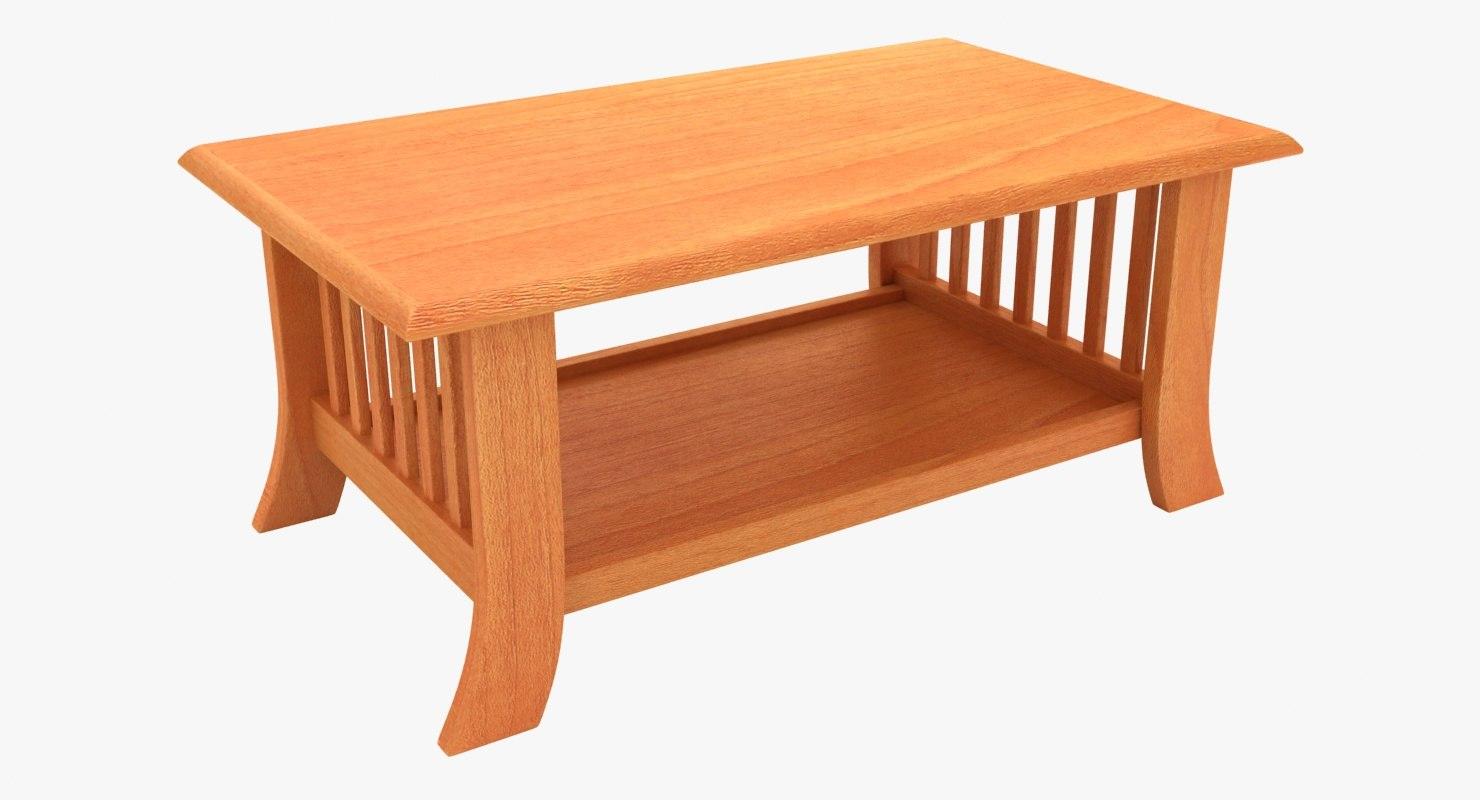 Wooden teapoy table 03 3D model - TurboSquid 1332084