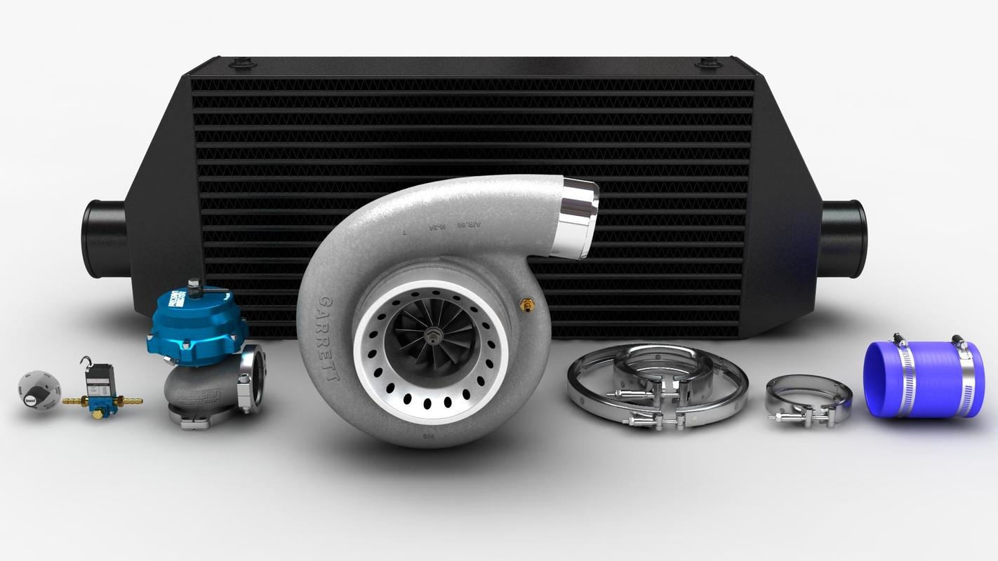 turbo turbocharger 3D model