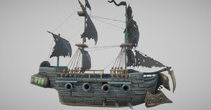 3D ghost ship