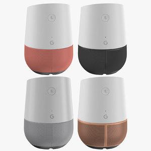 google home gen 3D model