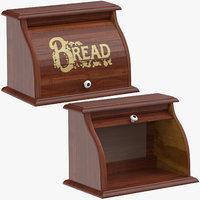 3D breadbox 01 open closed