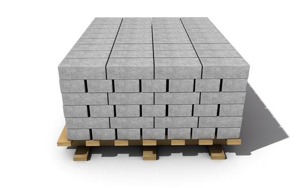 3D brick materials