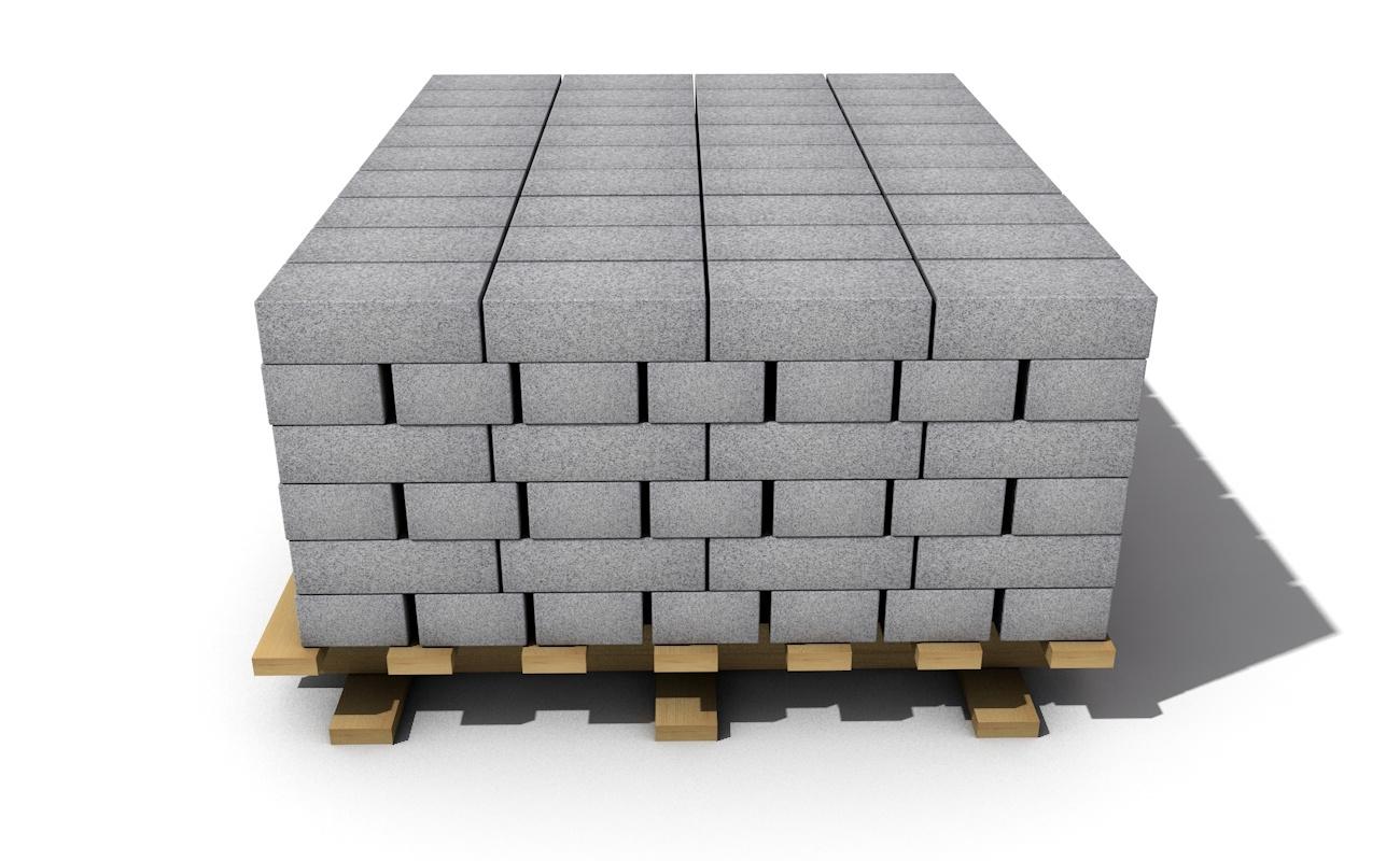 3D model brick materials
