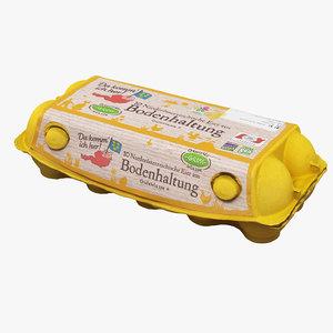 egg carton 3D