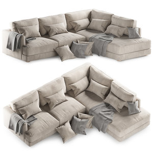 3D haven sectional sofa