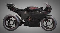Futuristic Motorcycle