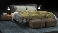 3D bed flexform adda