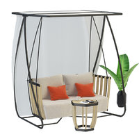 collections swing porch small 3D