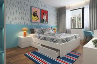bedroom bedroom-milimal model