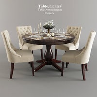 Table Chairs Tableware