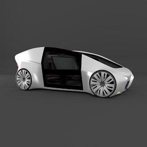 autonomous car 3D