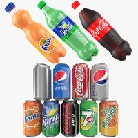 Soda Beverages Collection