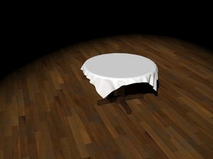 furniture table 3D