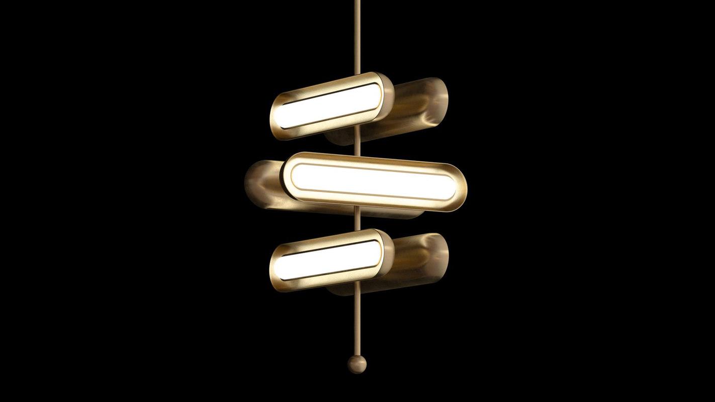 3D model ceiling light apparatus circuit