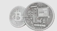 high details bitcoin model 3D model