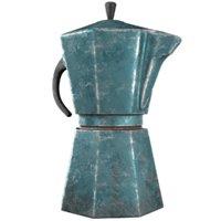 coffeepot coffee 3D