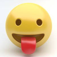 emoji stuck tongue model