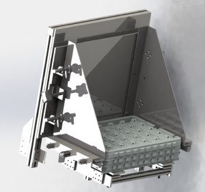 tray loading mechanism 3D