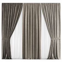 3D curtains 27 model