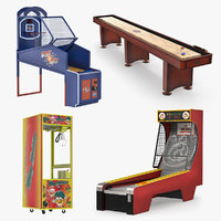 Arcade Games 3D Models Collection 2