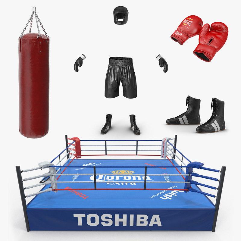 boxing 2 3D model