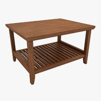 Wooden Teapoy Table 04